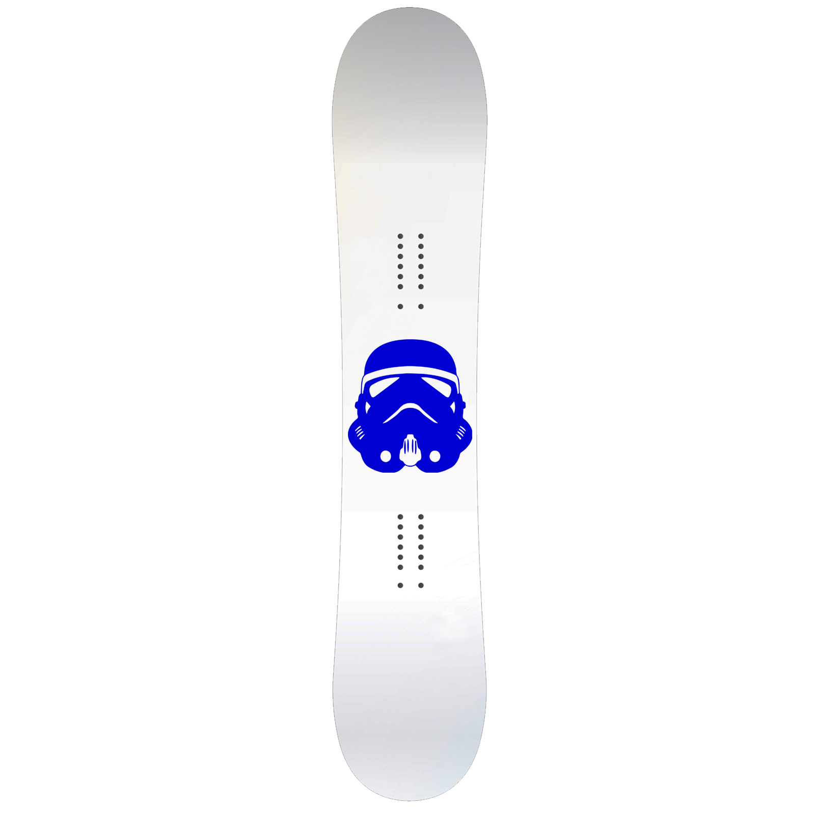 Storm Trooper Helmet Snowboard Sticker All Weather Vinyl Decal